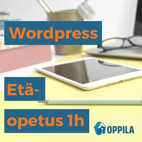 WordPress-etäopetus 1h