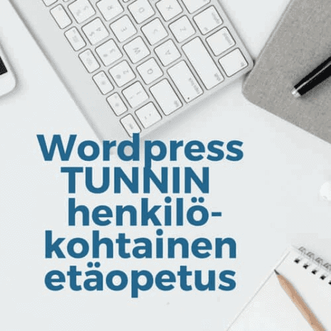 wordpress etäopetus 1h