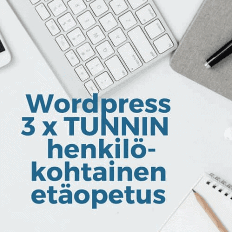 Wordpress etäopetus 3h