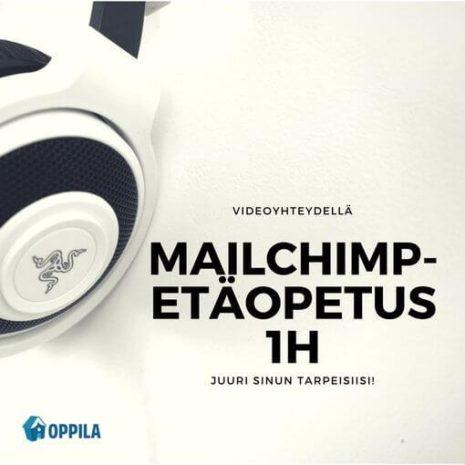 Mailchimp etäopetus 1h