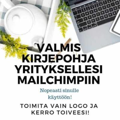 Mailchimp-kirjepohja
