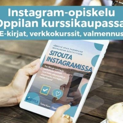 Instagram-opiskelu
