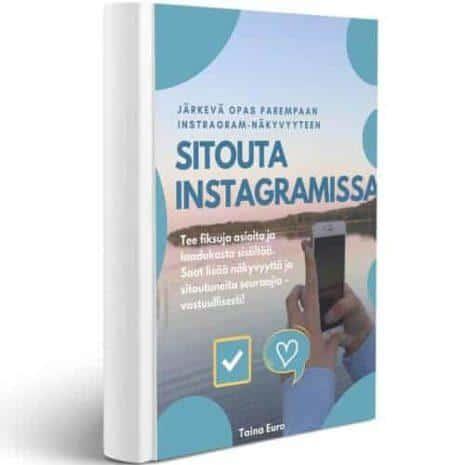 Sitouta Instagramissa e-kirja