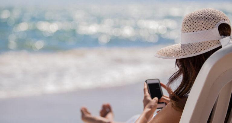 Mailchimpin mobiilisovellus – yrittäjän maksuton lomakaveri