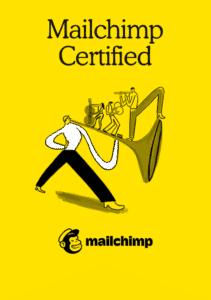 Mailchimp sertifikaatti Oppila.fi